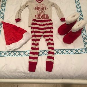 Old navy pj set with hat and boots